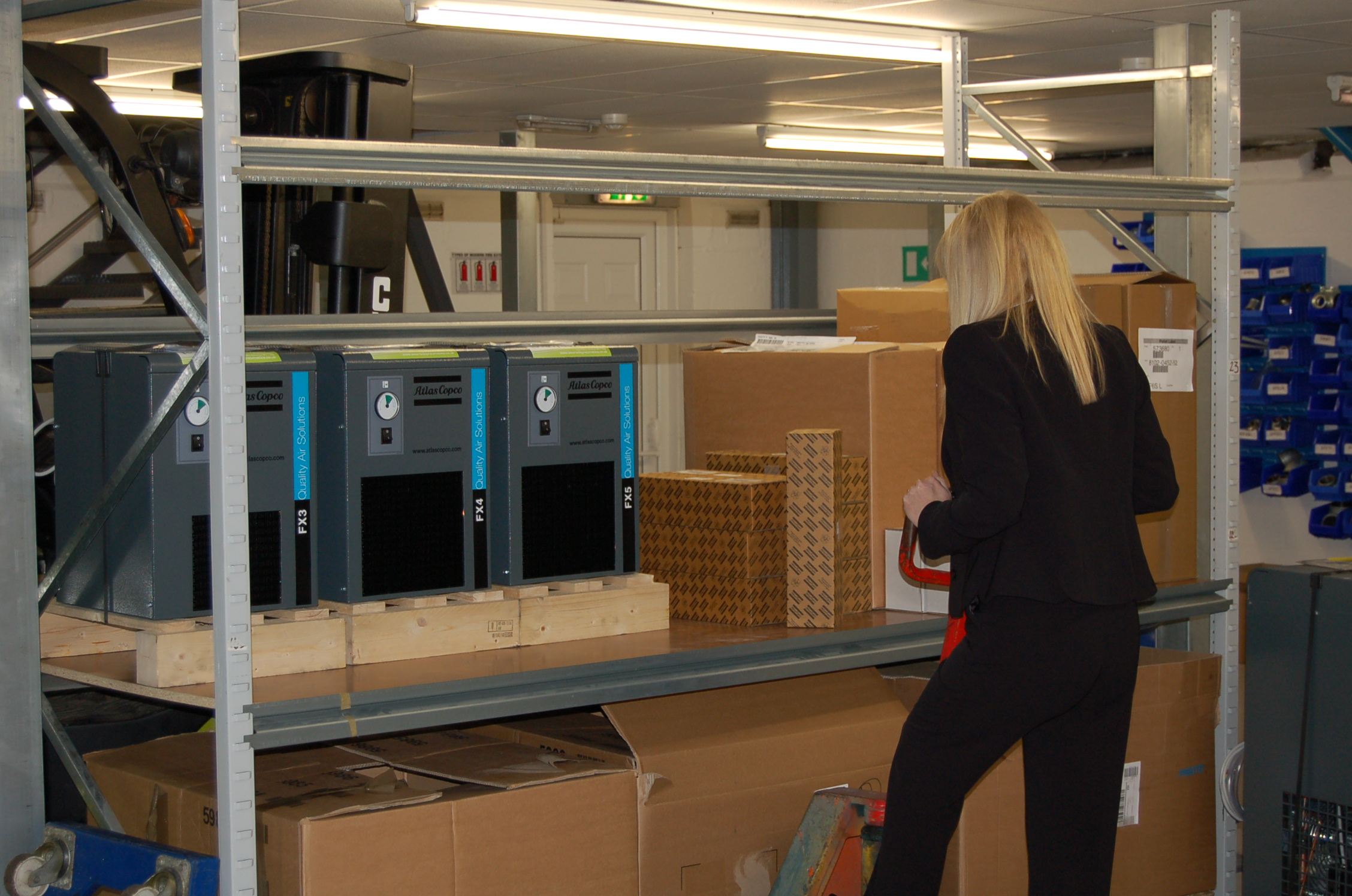 Consignment Stock can be stored at our site in Gateshead